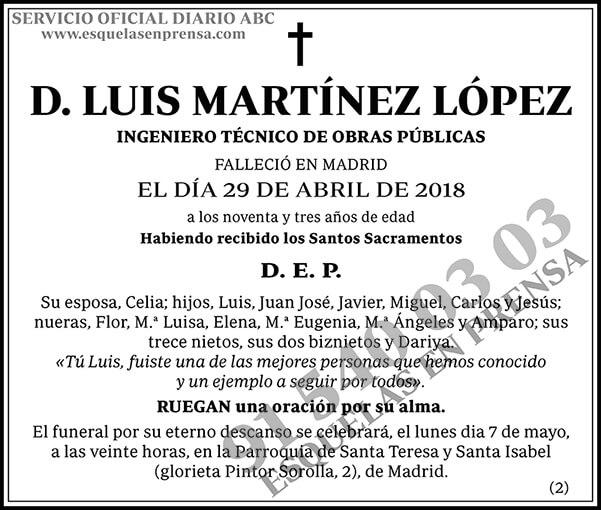 Luis Martínez López